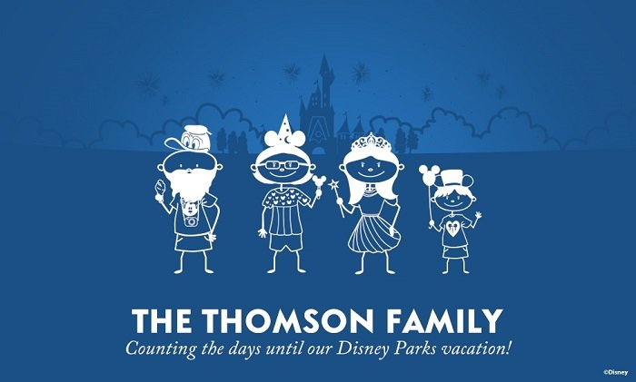 The Thomson Family Disney Holiday